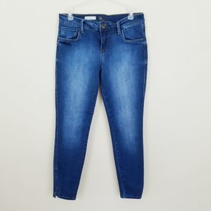 Kut From The Kloth Eva Ankle Skinny Jeans Size 6